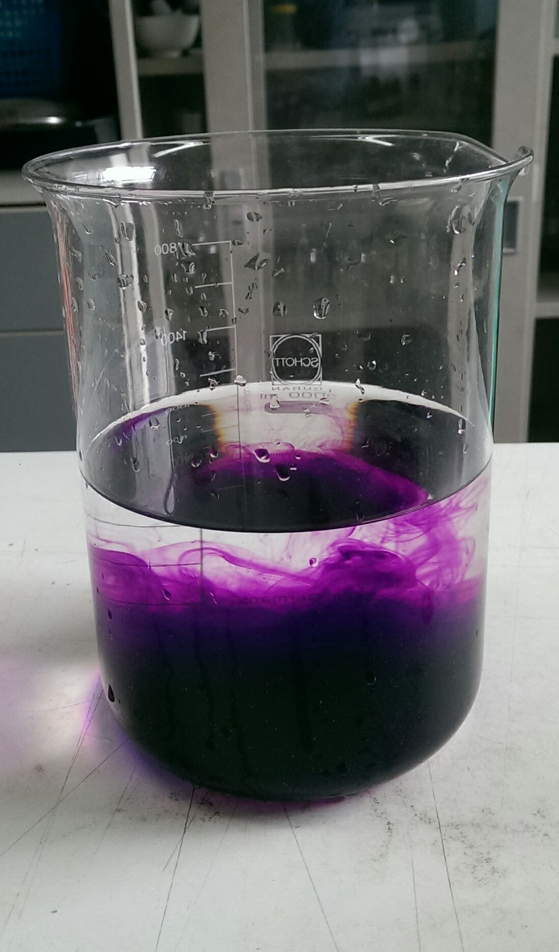 diffusion of potassium permanganate crystals in Cell transport page 3 of 5 time (min) diffusion of methylene blue (mm) diffusion of potassium permanganate and a container of potassium permanganate crystals.